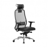 Кресло руководителя МЕТТА Samurai SL-3.04 черный