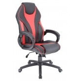 Кресло игровое  Everprof Wing TM Экокожа Красный