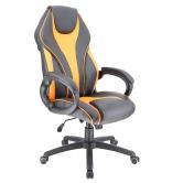 Кресло игровое  Everprof Wing TM Экокожа Оранжевый