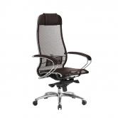 Компьютерное кресло МЕТТА Samurai S-1.04 сетка коричневый