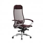 Компьютерное кресло МЕТТА Samurai S-1.04 сетка бордовый