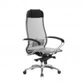 Компьютерное кресло МЕТТА Samurai S-1.04 сетка серый