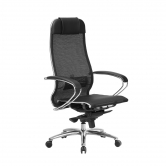 Компьютерное кресло МЕТТА Samurai S-1.04 сетка черный плюс