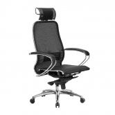 Компьютерное кресло МЕТТА Samurai S-2.04 сетка черный плюс