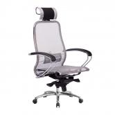 Компьютерное кресло МЕТТА Samurai S-2.04 сетка серый