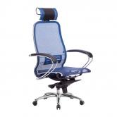 Компьютерное кресло МЕТТА Samurai S-2.04 сетка синий