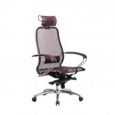 Компьютерное кресло МЕТТА Samurai S-2.04 сетка бордовый