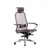 Компьютерное кресло МЕТТА Samurai S-2.04 сетка коричневый