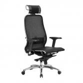 Компьютерное кресло МЕТТА Samurai S-3.04 сетка черный плюс