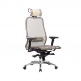 Компьютерное кресло МЕТТА Samurai S-3.04 сетка бежевый