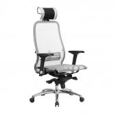 Компьютерное кресло МЕТТА Samurai S-3.04 сетка серый