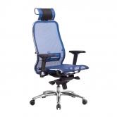Компьютерное кресло МЕТТА Samurai S-3.04 сетка синий