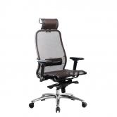 Компьютерное кресло МЕТТА Samurai S-3.04 сетка коричневый