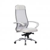 Компьютерное кресло МЕТТА Samurai SL-1.04 белый лебедь