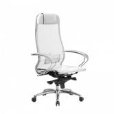 Компьютерное кресло МЕТТА Samurai S-1.04 сетка белый лебедь