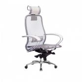Компьютерное кресло МЕТТА Samurai S-2.04 сетка белый лебедь