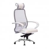 Компьютерное кресло МЕТТА Samurai SL-2.04 белый лебедь