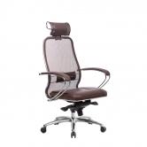 Компьютерное кресло МЕТТА Samurai SL-2.04 коричневый