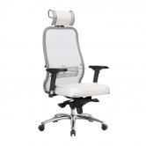 Компьютерное кресло МЕТТА Samurai SL-3.04 белый лебедь