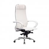Компьютерное кресло МЕТТА Samurai K-1.04 белый лебедь