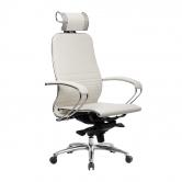 Компьютерное кресло МЕТТА Samurai K-2.04 белый лебедь