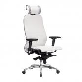 Компьютерное кресло МЕТТА Samurai K-3.04 белый лебедь