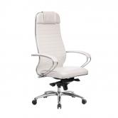 Компьютерное кресло МЕТТА Samurai  KL-1.04 белый лебедь