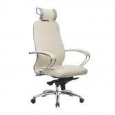 Компьютерное кресло МЕТТА Samurai KL-2.04 белый лебедь