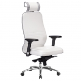 Компьютерное кресло МЕТТА Samurai KL-3.04 белый лебедь