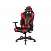 Кресло игровое Drift DR111 PU Leather black/red