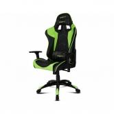 Кресло компьютерное DRIFT DR300 PU Leather black/green