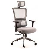 Офисное кресло EVERPROF Everest S сетка серый