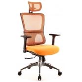 Офисное кресло EVERPROF Everest S сетка оранжевый