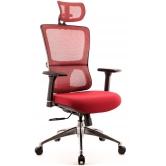 Офисное кресло EVERPROF Everest S сетка красный