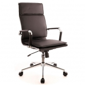 Офисное кресло EVERPROF Nerey M экокожа черный