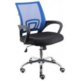 Офисное кресло EVERPROF EP 696 сетка синий