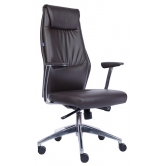 Офисное кресло EVERPROF London PU экокожа темно-коричневый