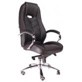 Офисное кресло EVERPROF DRIFT M натуральная кожа черный