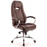 Офисное кресло EVERPROF DRIFT M натуральная кожа коричневый