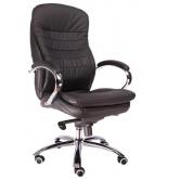 Офисное кресло EVERPROF VALENCIA M натуральная кожа черный