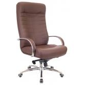 Офисное кресло EVERPROF Orion AL M натуральная кожа коричневый