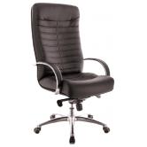 Офисное кресло EVERPROF Orion AL M натуральная кожа черный