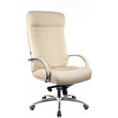 Офисное кресло EVERPROF Orion AL M натуральная кожа бежевый