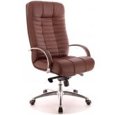 Офисное кресло EVERPROF Atlant AL M натуральная кожа коричневый