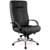 Офисное кресло EVERPROF Atlant AL M натуральная кожа черный