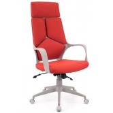 Офисное кресло EVERPROF  Trio Grey TM ткань красный