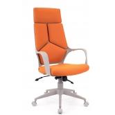 Офисное кресло EVERPROF  Trio Grey TM ткань оранжевый