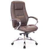 Офисное кресло EVERPROF KRON M натуральная кожа коричневый
