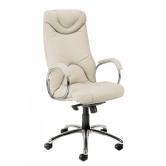 Офисное кресло руководителя Elf steel chrome
