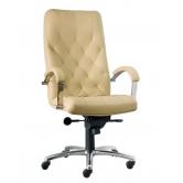 Офисное кресло руководителя Cuba steel chrome